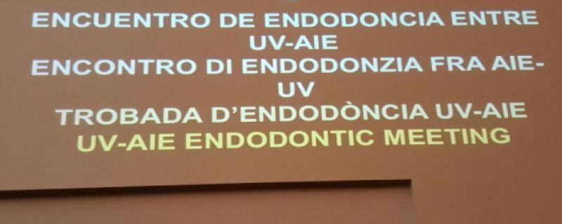 V Encuentro entre AIE y el Máster en Endodoncia de la Universitat de València